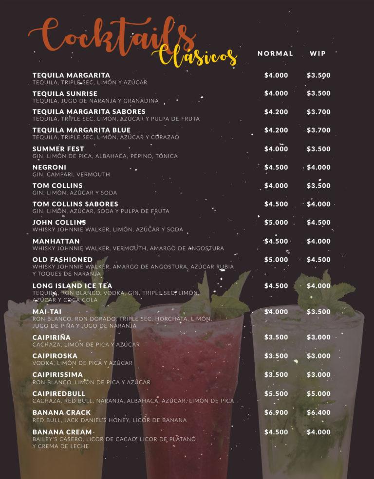 Cocktails Clásicos 2