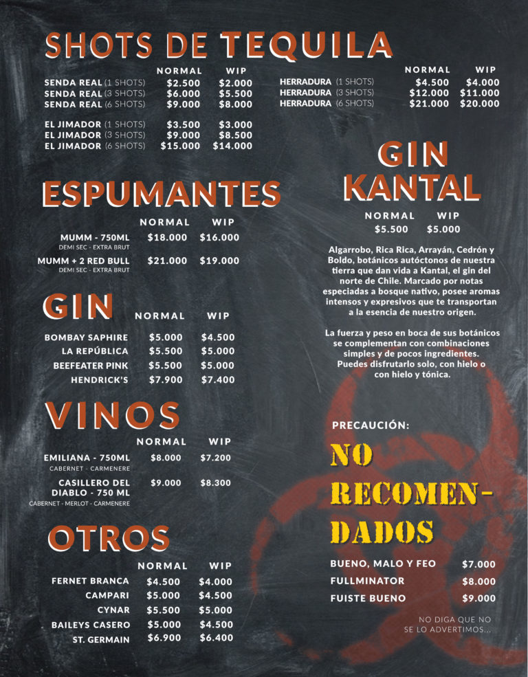 Shots, Gin y Otros